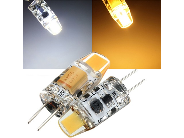 G4 1W COB Filament LED Spotlight Bulb Lamp Warm/Pure White AC/DC 10-20V | free-classifieds-usa.com