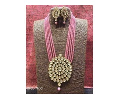 Best Price Offered On Kundan Necklace, Bridal Jewelery, Chokers Online