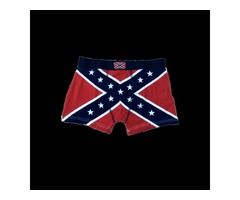 Confederate Flag Men's Boxer