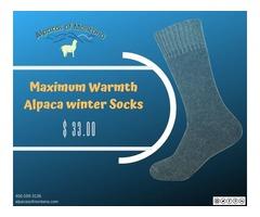 Warmest Socks For Winter | Best Winter Socks: Alpacas of Montana