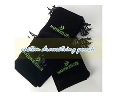 Instructions for custom made drawstring bags, advertising bags and cotton jewelry bags