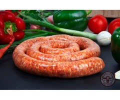 Pork Or Beef Sausage