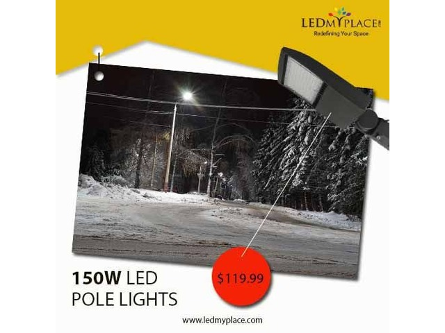 Replace MH Lights with 150W LED Pole Lights in an Economical Way | free-classifieds-usa.com