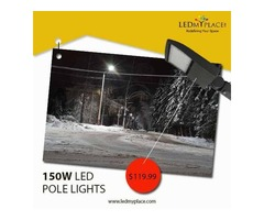 Replace MH Lights with 150W LED Pole Lights in an Economical Way