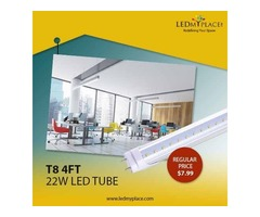 Enjoy Cool White Light Rays By Installing 22w T8 6500k Led Tube Lights | free-classifieds-usa.com