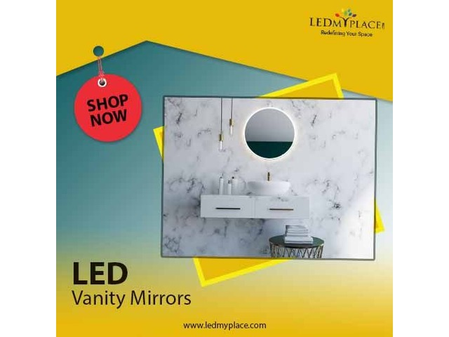 Use Vanity LED Mirrors to Look More Stylish | free-classifieds-usa.com