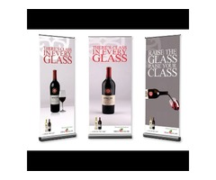 Vertical banners with stand | Print Your Order