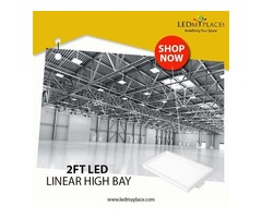 Upgrade to 165w LED Liner High Bay to save Electricity