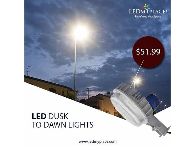 Use Eco-Friendly 55w Dusk to Dawn LED Pole Lights for Saving Nature | free-classifieds-usa.com