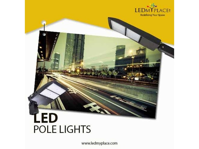 Install LED Pole Lights at Streets to Consider Drivers Safety a Priority | free-classifieds-usa.com