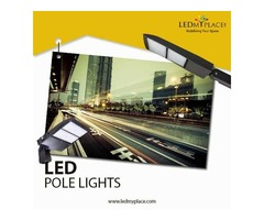 Install LED Pole Lights at Streets to Consider Drivers Safety a Priority