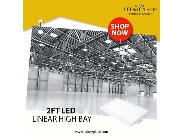 Upgrade to 165w LED Liner High Bay to save Electricity | free-classifieds-usa.com