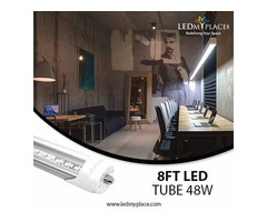 Buy 8FT LED Tube that have Almost Zero Maintenance Cost Attached to Them