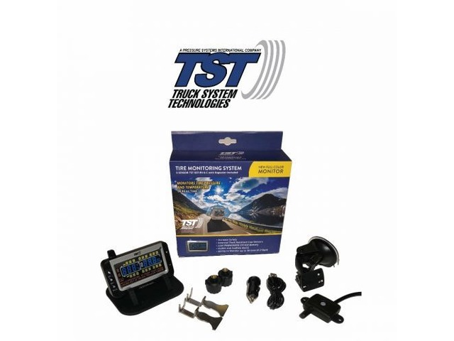 507 Series - 2 RV Cap Sensor TPMS System with Color Display | free-classifieds-usa.com