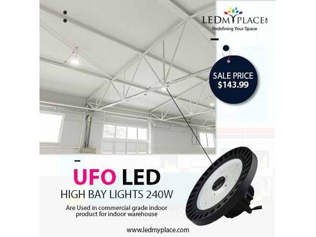 UFO LED High Bay 240W - The Number 1 Product For Warehouse Lighting | free-classifieds-usa.com