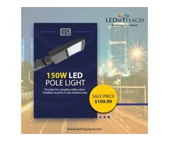 Grab Discount Available Now on 150w LED Pole Lights