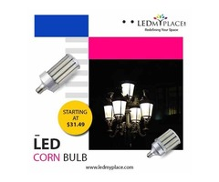 Install Energy Efficient LED Corn Bulb To Enhance Brightness