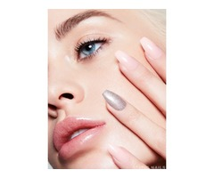 Flaunt the trendy Press on stiletto nails