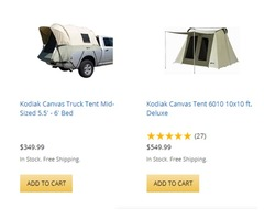 Kodiak Tents the Perfect Addition to your Outdoor Adventure