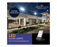 Illuminate Big Stadiums from Outside BY Installing LED Flood Lights