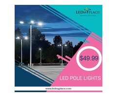 Switch To LED Pole Lights at an unbelievable price! Grab Now
