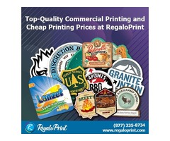 Top-quality commercial printing and cheap printing prices at RegaloPrint | free-classifieds-usa.com