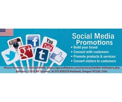 Publish your Business Online through Social Media Promotions with GPC Softwares
