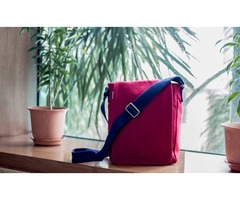 EcoRight Sling Bag Crossbody Bag shoulder bag ideal for casual occasions, travel and carrying a lapt
