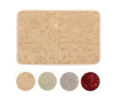 40x60cm Non Slip Absorbent Soft Coral Velvet Carpet Bathroom Floor Mat Rug