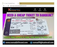 Do you need a cheap ticket to Bangkok or Manila?