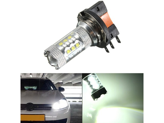 H15 White LED Car Halogen Bulb 12V 8W DRL Light | free-classifieds-usa.com
