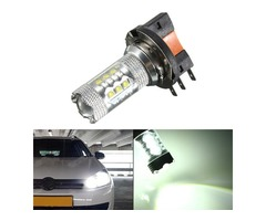 H15 White LED Car Halogen Bulb 12V 8W DRL Light