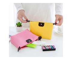 Honana HN-TB15 Waterproof Travel Organizer Makeup Handbag Cosmetic Coin Storage Bags