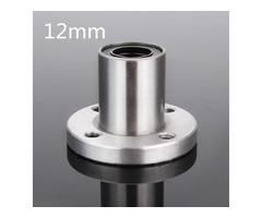 LMF12UU 12mm Flange Linear Ball Bearing Motion Bushing Bearing