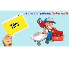 Look At Some Tips To Hire Plumbers Near Me