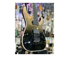 New ESP LTD MH-1007 Electric Guitar, Macassar Ebony