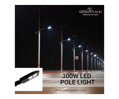 Install 300W LED Pole Lights That Come With Universal Mounting Option