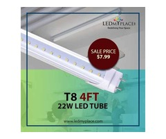 Increase your Monthly Savings by Installing T8 clear 4ft LED Tubes Inside Homes