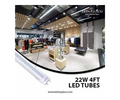 Have the Perfect Lighting Alternative, Install Clear 4ft LED Tubes At Indoors