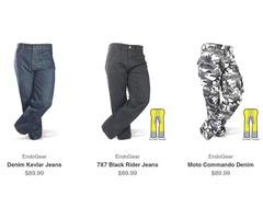 Men's Kevlar Reinforced Motorcycle Jeans - EndoGear