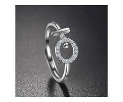 Sterling Silver Venus Ring