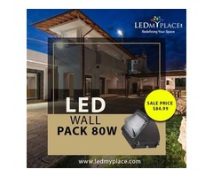 Install 80W LED Wall Pack Lights And Protect Workplace From Criminals!