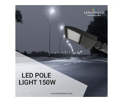 Not all Outdoor Lights are Effective as 150w LED Pole Lights