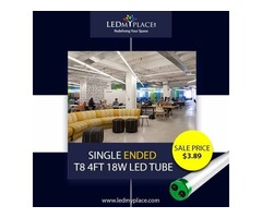 4ft LED Tube Frosted - Most Suitable Light Source For Soft Lighting