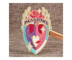 Passione Custom Embroidered Patches