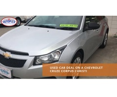 Used Car Deal On A Chevrolet Cruze Corpus Christi