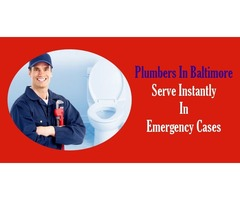 Plumbers In Baltimore Serve Instantly In Emergency Cases