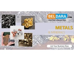 Metals and Minerals products, equipments & materials | Beldara.com