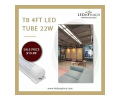 4ft LED Tube Integrated - Energy-Efficient But Low On Maintenance