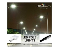 Install LED Pole Lights To Brighten Up The Outdoor Area